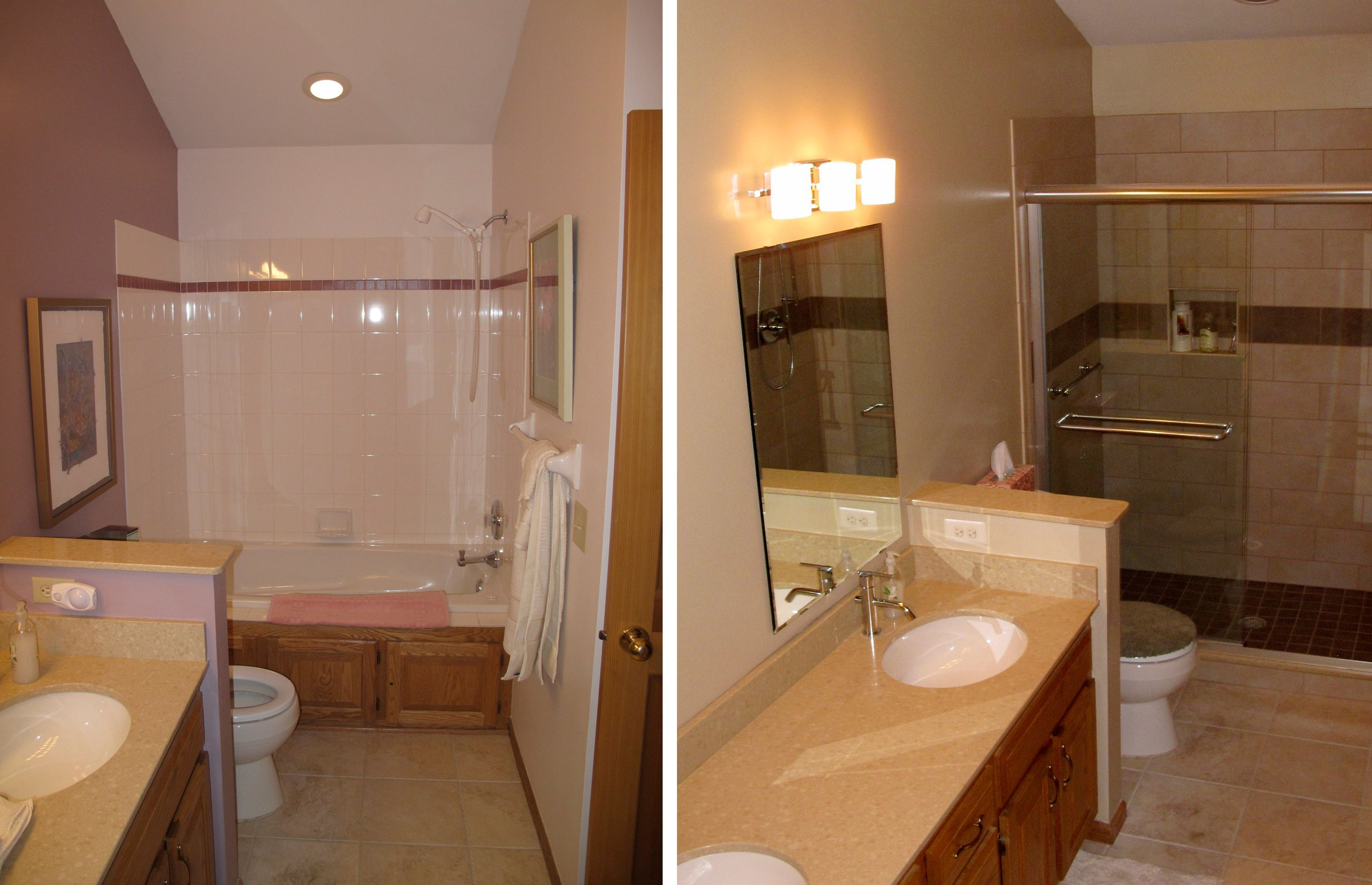 bathroom remodel ideas before and after ideas