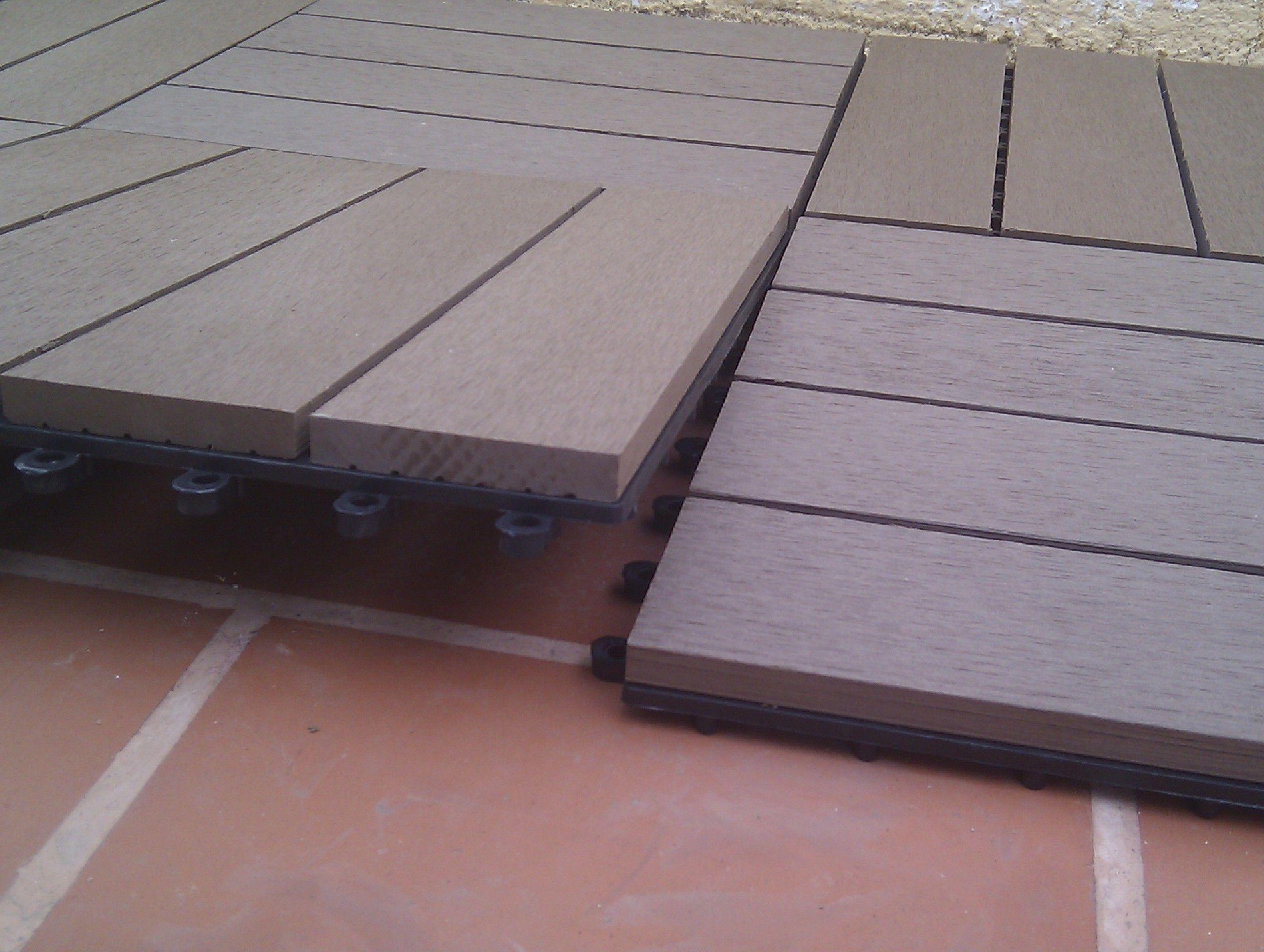 El suelo composite m s sencillo y r pido de instalar - Suelo composite exterior ...