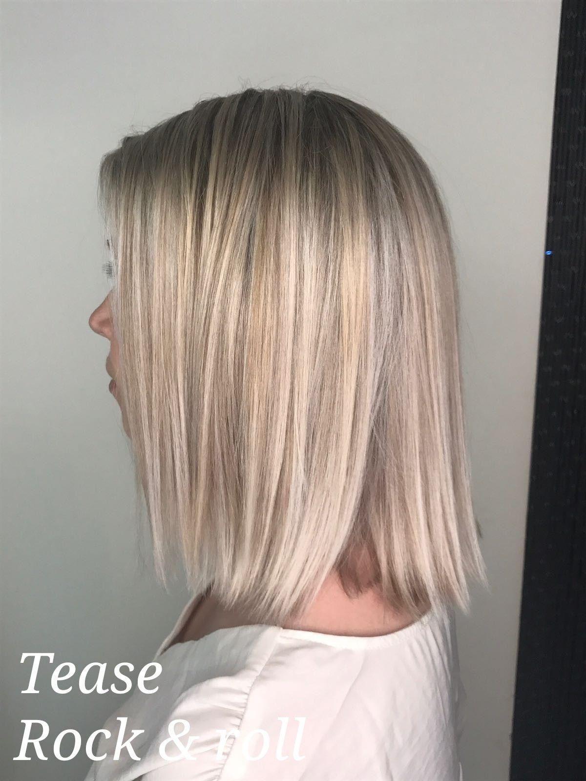 Blonde lob hair pinterest blonde lob semi short hair and lob