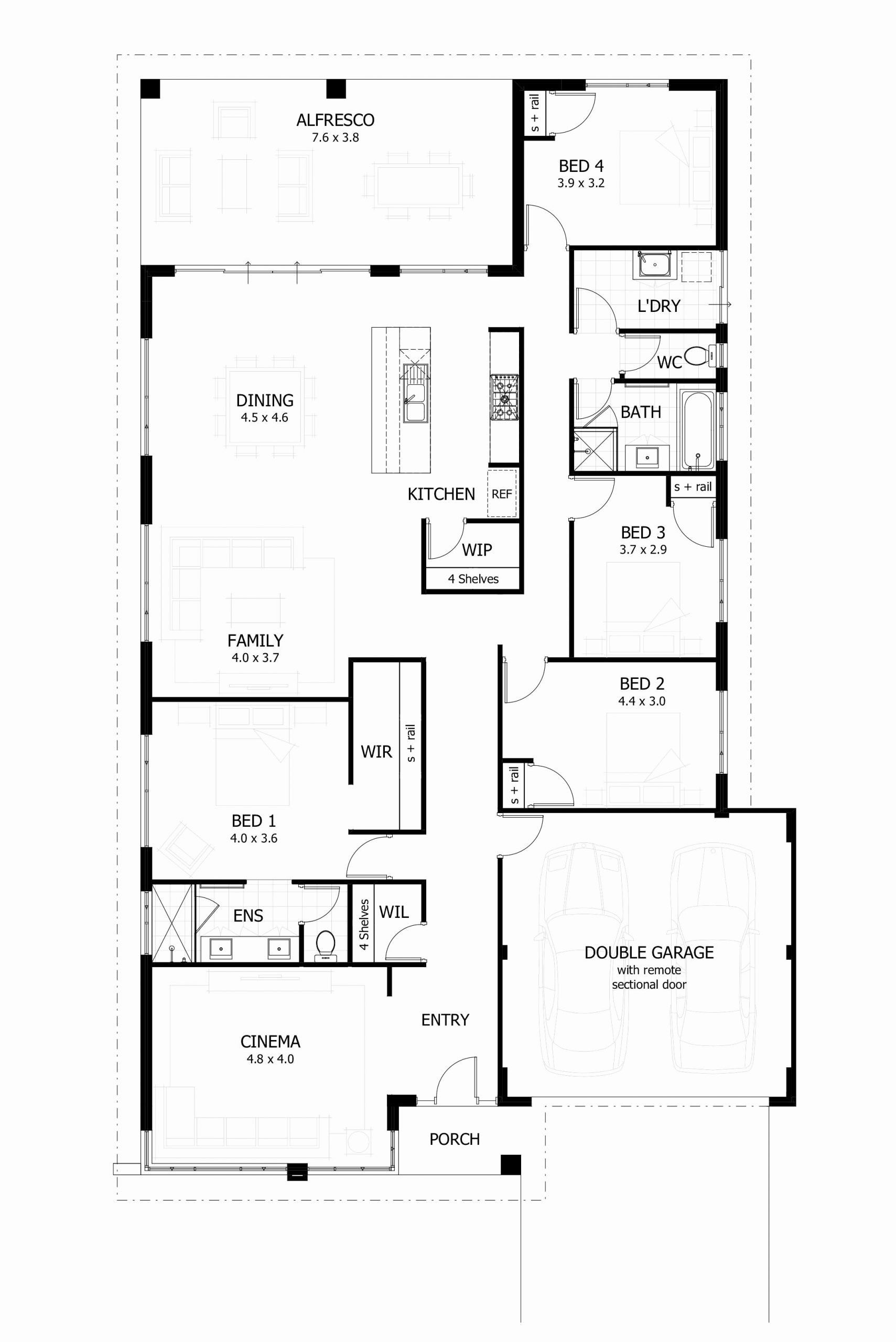 Free 4 Bedroom House Plans Unique Beautiful 4 Bedroom House Plans Pdf Free Download Unique Home Design Floor Plans House Plans Australia 4 Bedroom House Plans