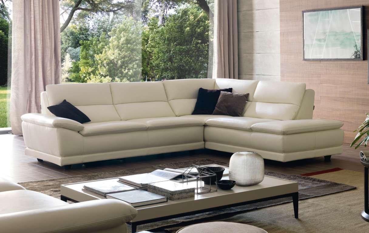 sofá tapizado en piel de chateau d'ax. modelo 3887. chiara ... - Puffoletto Chateau D Ax