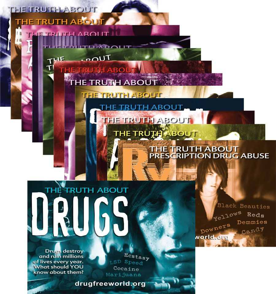 The Truth About Drugs Series  Excellent Educational Brochures Www