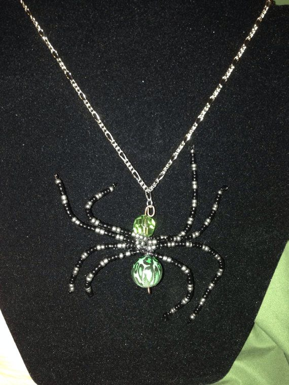 The pendant measures 4in tall and 3.5in wide, on a 14in chain. A great piece for fall. $5
