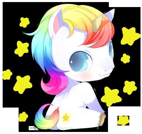 Super Cute Baby Unicorn