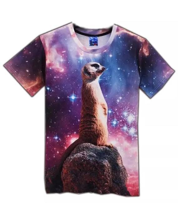 INTERESTPRINT Childs T-Shirt Galaxy Print XS-XL