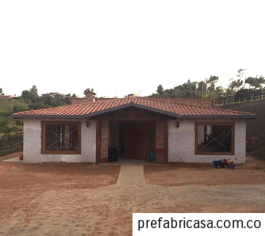 Casas prefabricadas cali grandes casas pinterest for Fachadas de casas campestres de un piso