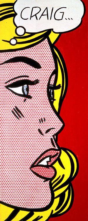 Roy Lichtenstein Andy Warhol Pop Art Pop Art Comic Roy Lichtenstein Pop Art