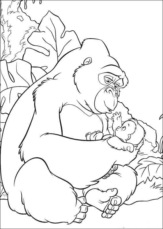 das dschungelbuch 51 ausmalbilder für kinder. malvorlagen