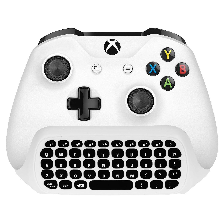 Lesb Xbox One Wireless Chatpad Keyboard With 3 5mm Audio Jack For Microsoft Xbox One Xbox One Slim Xbox One X X Xbox One Controller Xbox Accessories Xbox One S