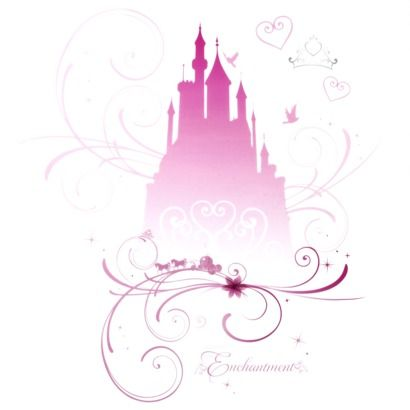 Disney Princess Castle Decals - got this one on clearance at Target!