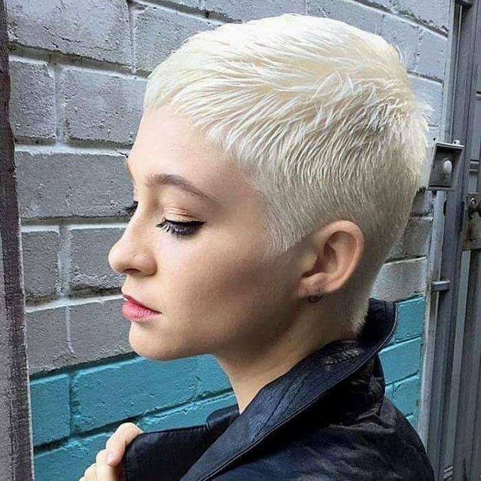 Wonderbaar Speciaal voor alle dames met blond haar: 10 stoere korte blonde IY-61