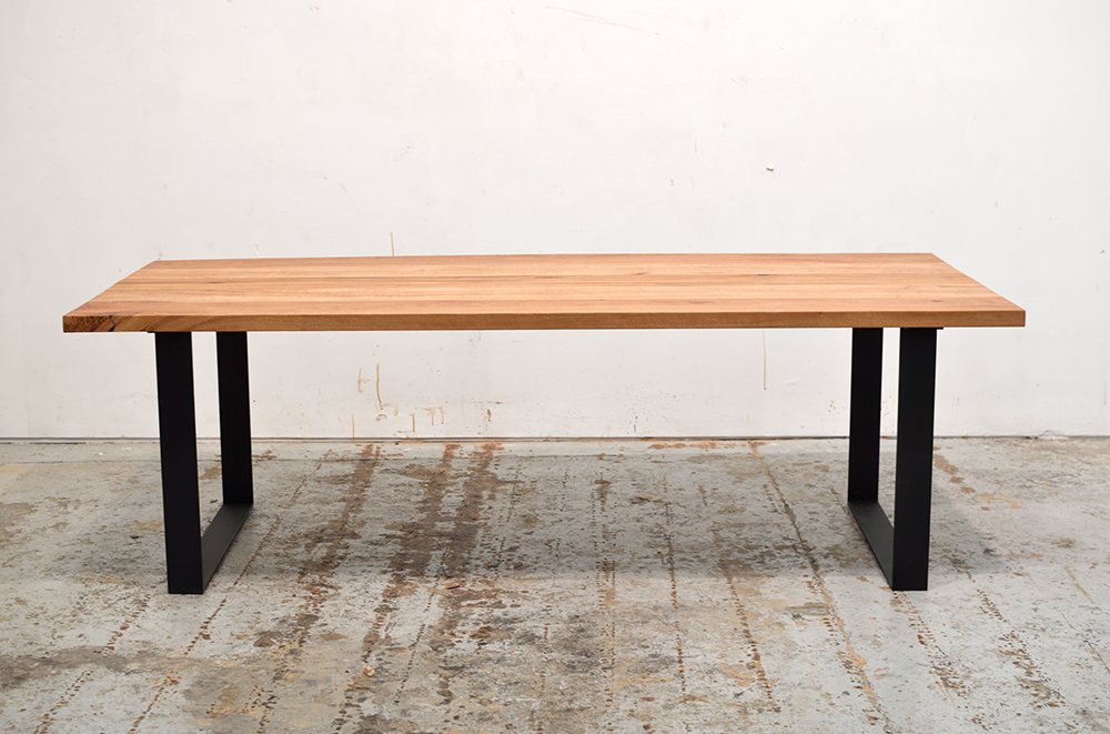 Custom Recycled Hardwood Timber Dining Tables Made in Sydney