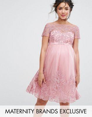 Chi Chi London – Mode für Schwangere – Hochwertiges, besticktes ...