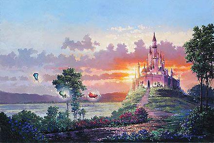 Sleeping Beauty - Blessings for the Princess - Rodel Gonzalez - World-Wide-Art.com - $695.00 #Disney #RodelGonzalez