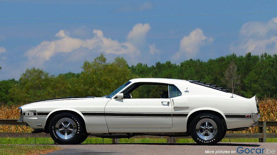 Zeldzame Ford Mustang Shelby Gt350 Van 1970 Te Koop Mustang