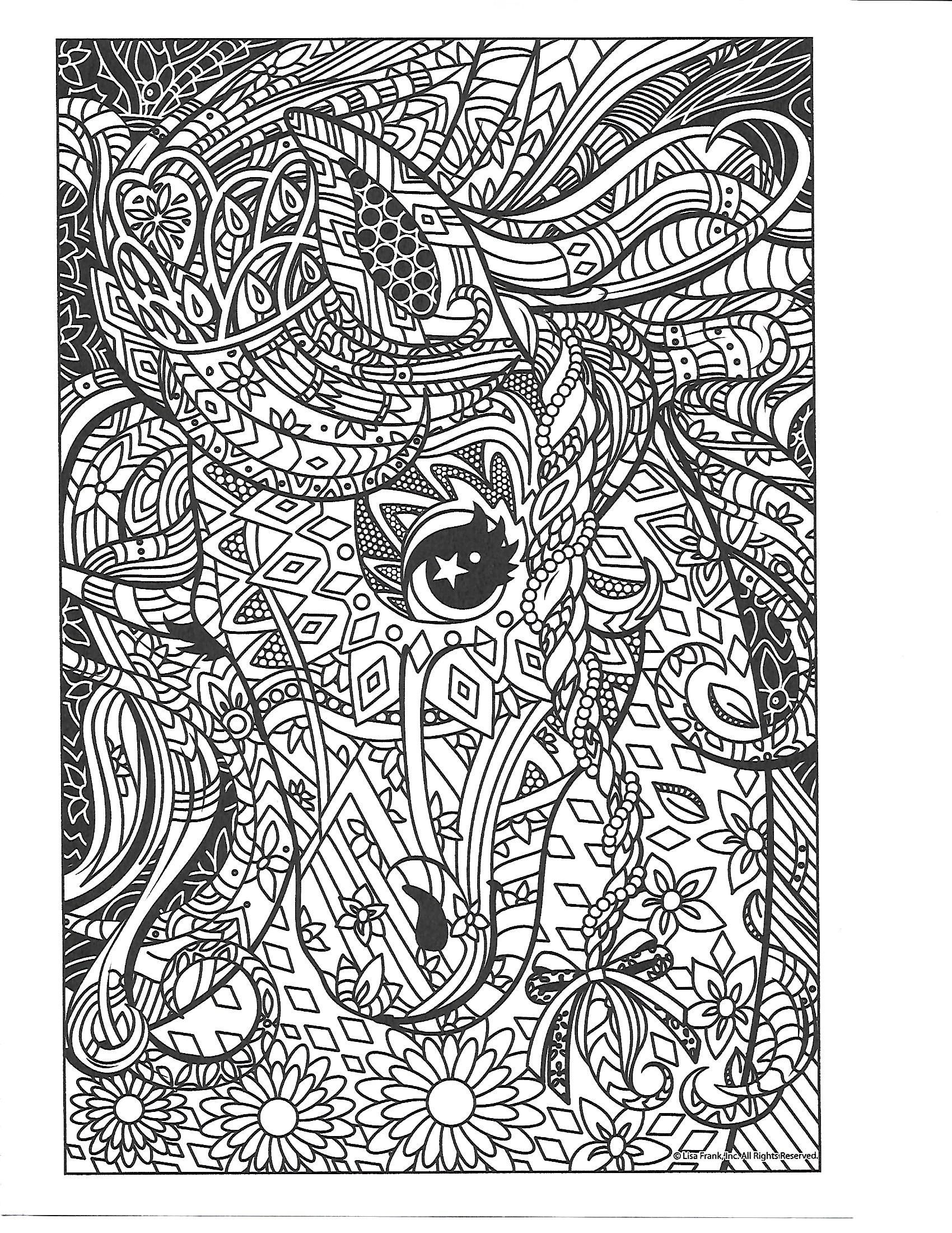 Pin By Steph H On Lisa Frank Coloring Pages Love Coloring Pages Lisa Frank Coloring Books Coloring Pages [ 2200 x 1700 Pixel ]