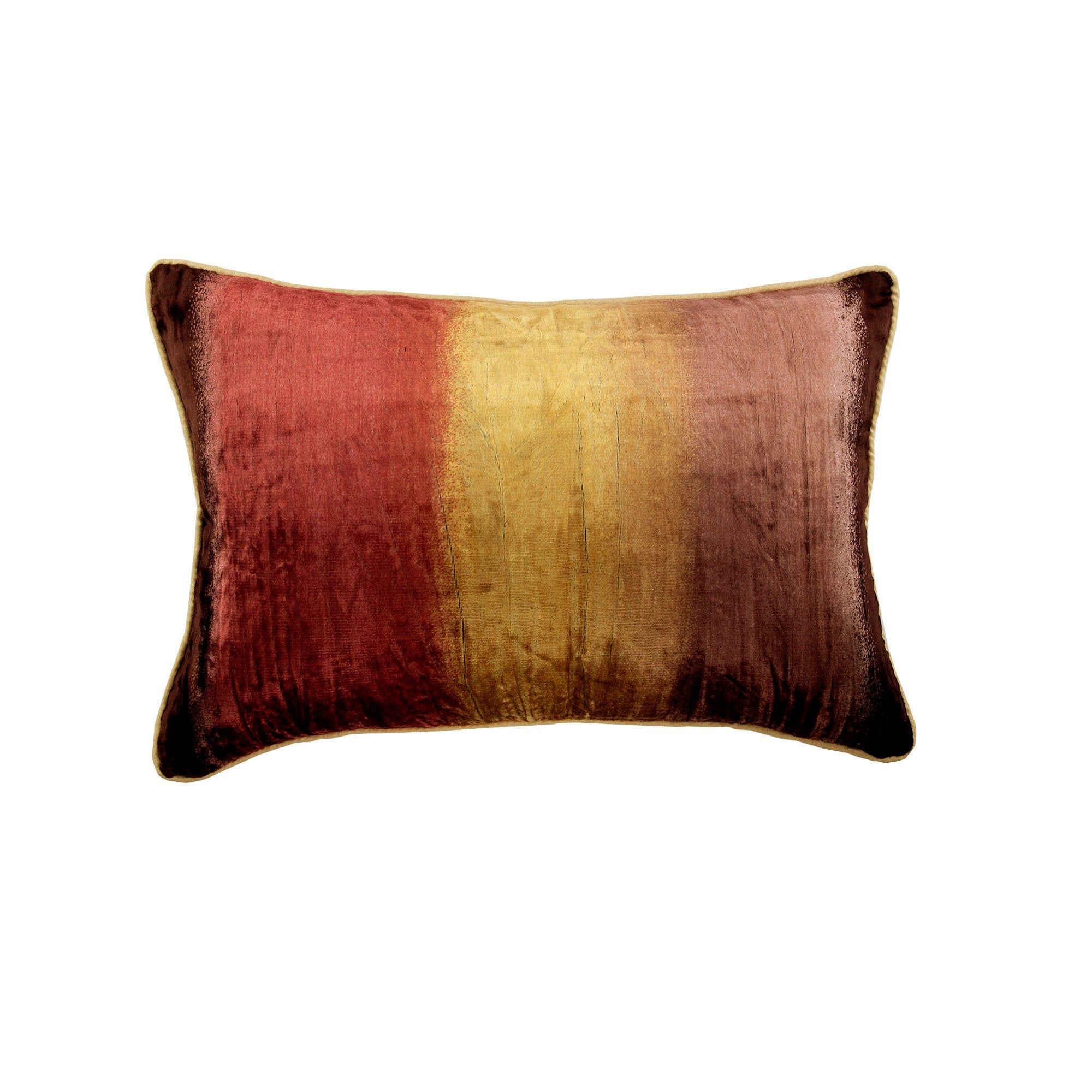 Decorative Oblong Lumbar Throw Pillow