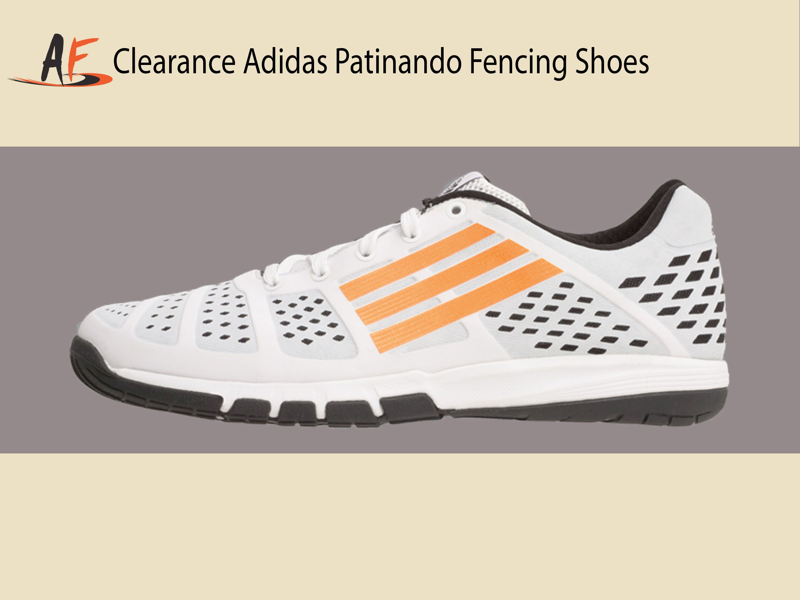 Clearance Adidas Patinando Fencing Shoes On Guard