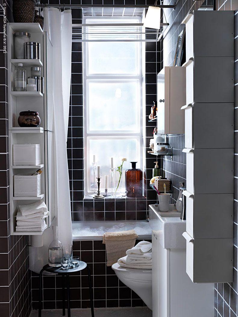 Inspirations Cozy Lowes Linoleum Flooring For Classy: Almacenaje Funcional Con Estilo Para Baños Pequeños
