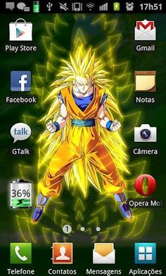 Download DBZ Goku Live Wallpaper For Android By Josefilho Appszoom
