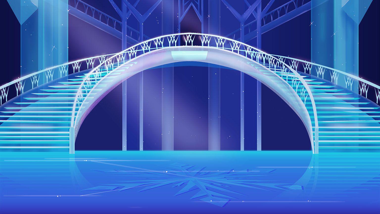 Disney Frozen Holiday Card Creator Frozen Background Episode Interactive Backgrounds Anime Background