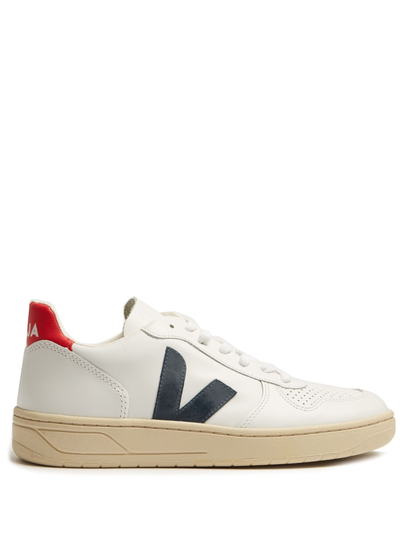 3173d126b9864 Click here to buy Veja V-10 low-top leather trainers at MATCHESFASHION.COM