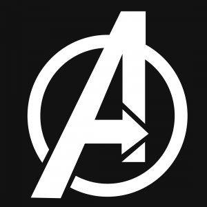 Logo For The Avengers Avengers Logo Superhero Wallpaper Avengers Symbols