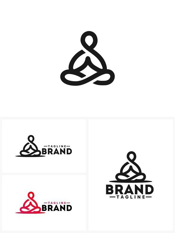 View Meditation Logo Design Inspiration