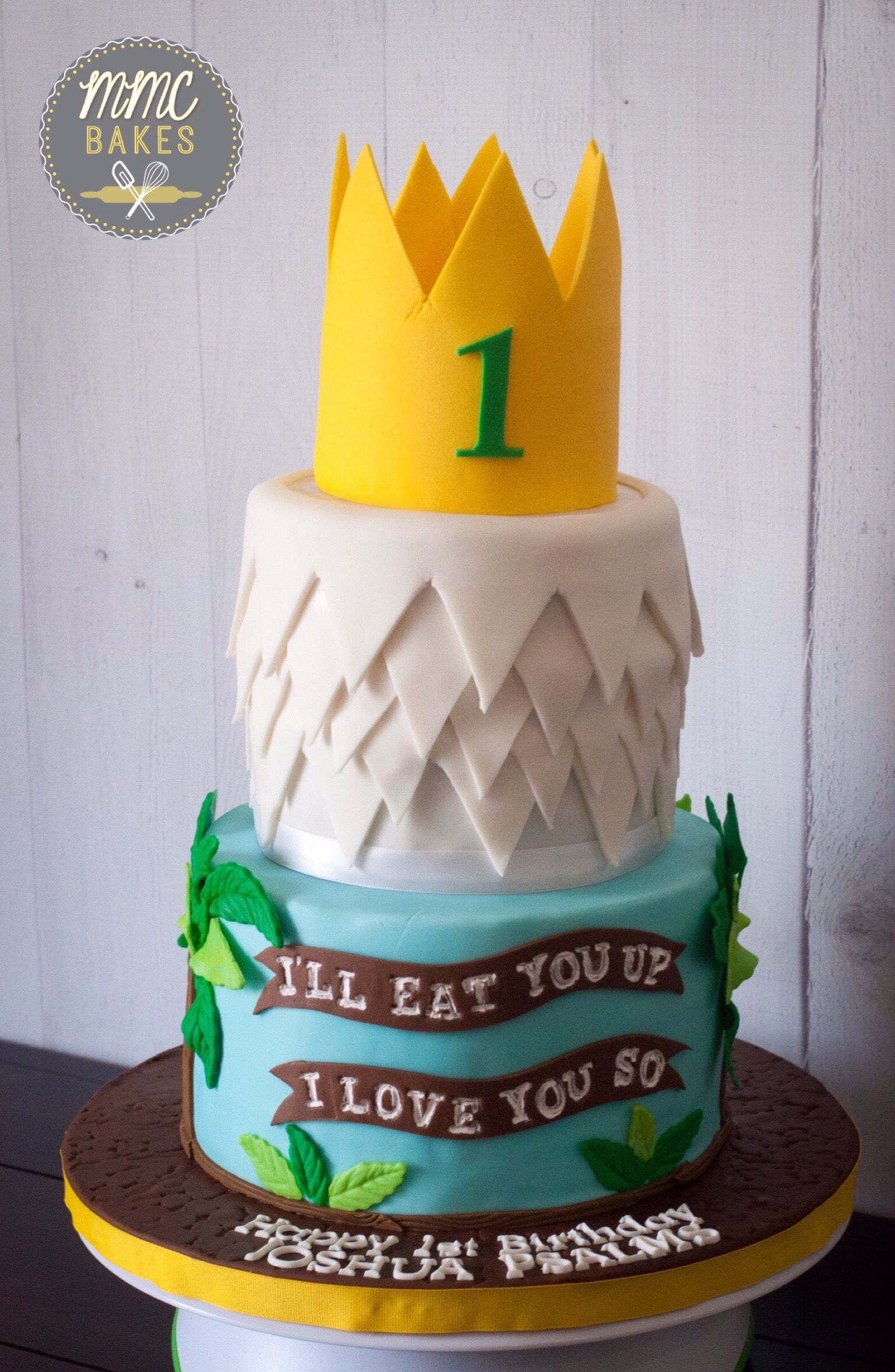 Where The Wild Things Are Cake Josh S Wild One First