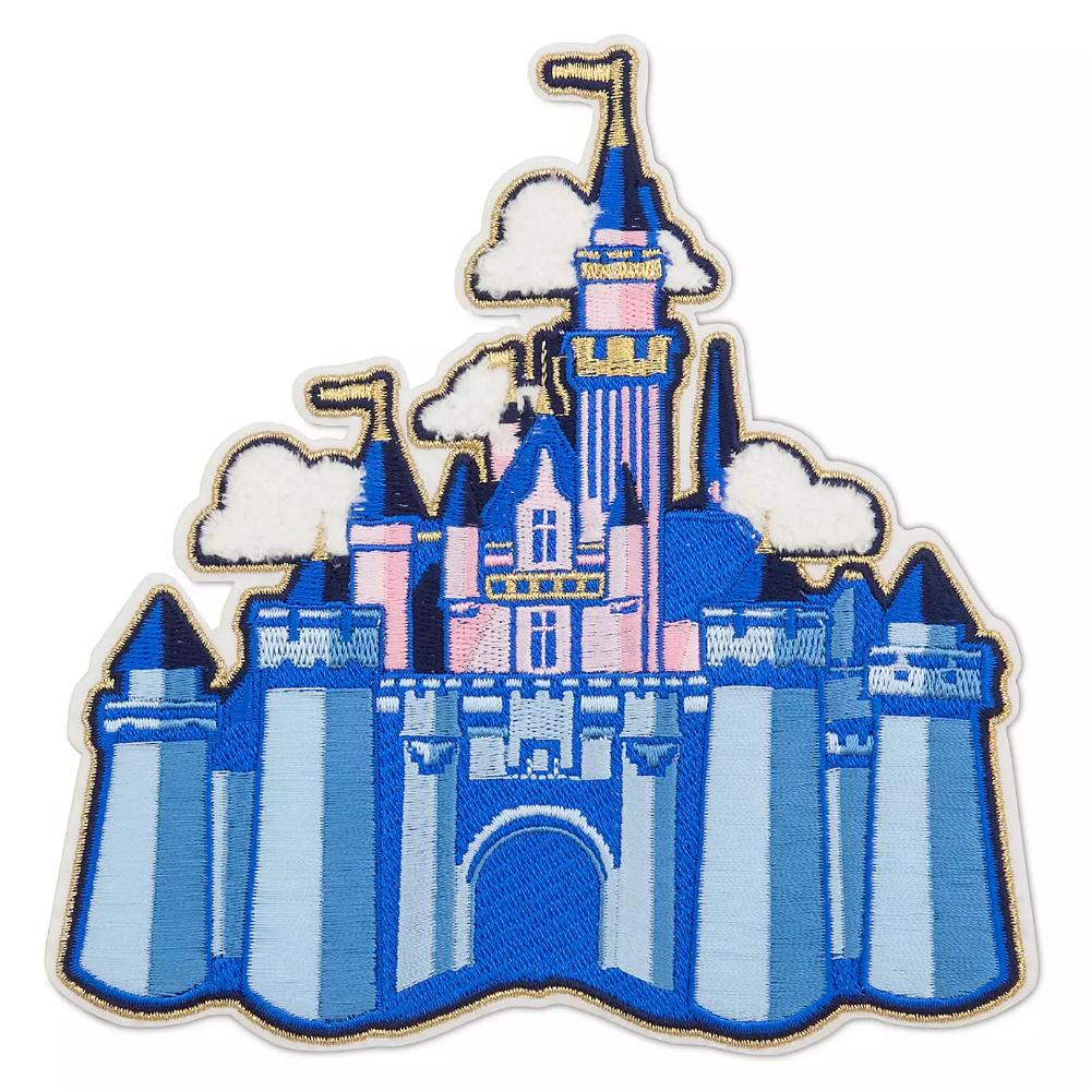 Sleeping Beauty Castle Patched Disneyland Shopdisney Sleeping Beauty Castle Disney Patches Disneyland Castle