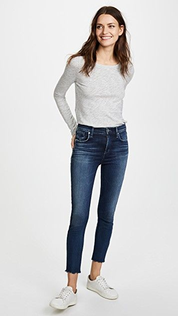 Sophie High Rise Skinny Crop Jeans Cropped skinny jeans