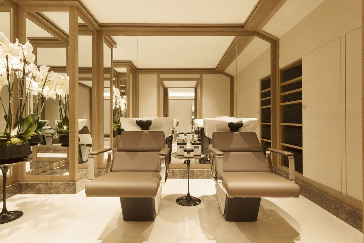 Salon David Mallett La Nouvelle Adresse De David Mallett Spa Hairdresser Furniture
