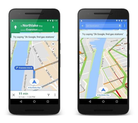 google maps commands Google voice, Google today, Google maps