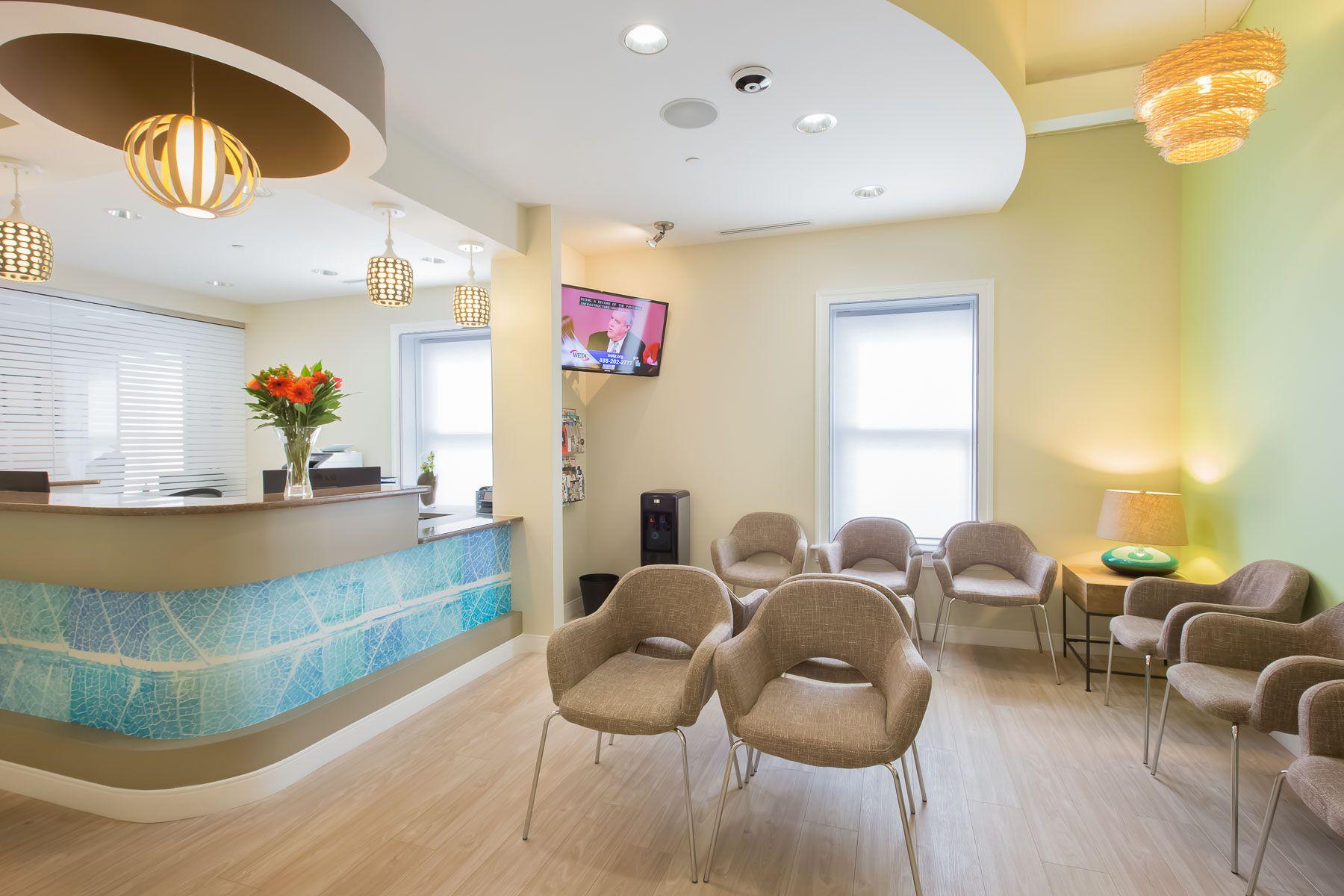 Sublime Smiles Gaithersburg | reception area interior design ...