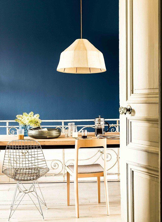 indigo bedroom walls - Google Search | Bedroom Colors | Pinterest ...