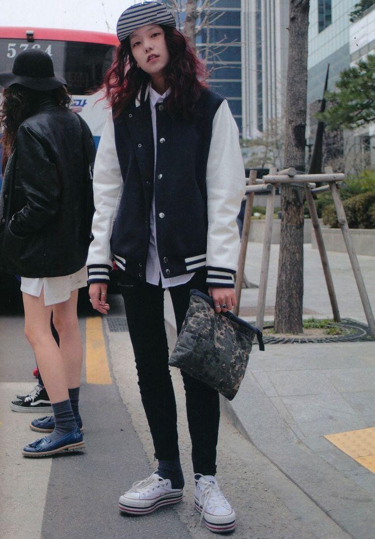 Korean Tomboy Style | www.imgkid.com - The Image Kid Has It!