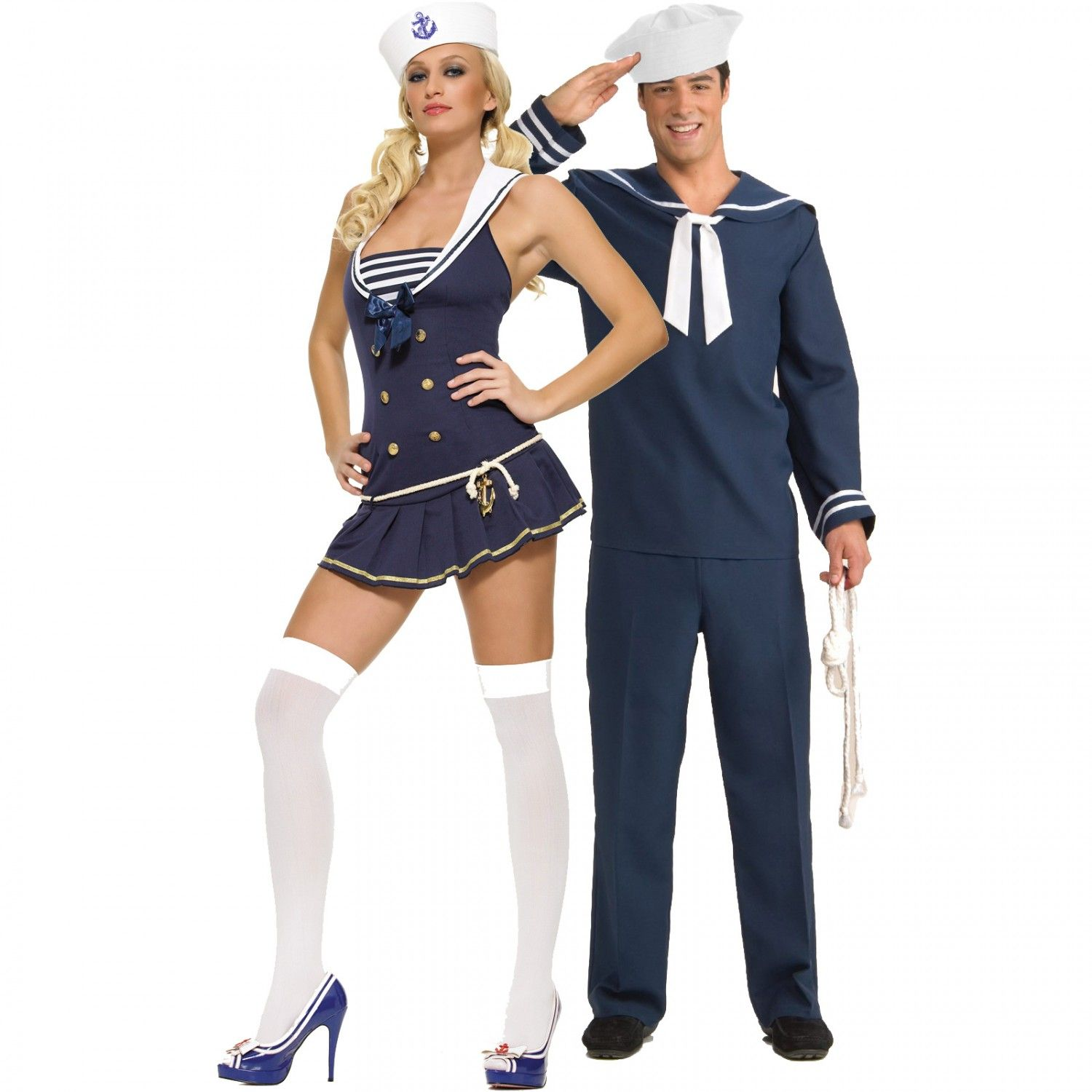 sailor couples costumes - Sailors Halloween Costumes