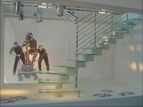 Best Mobirolo Nika Glass Staircase Staircase Design Stair 640 x 480