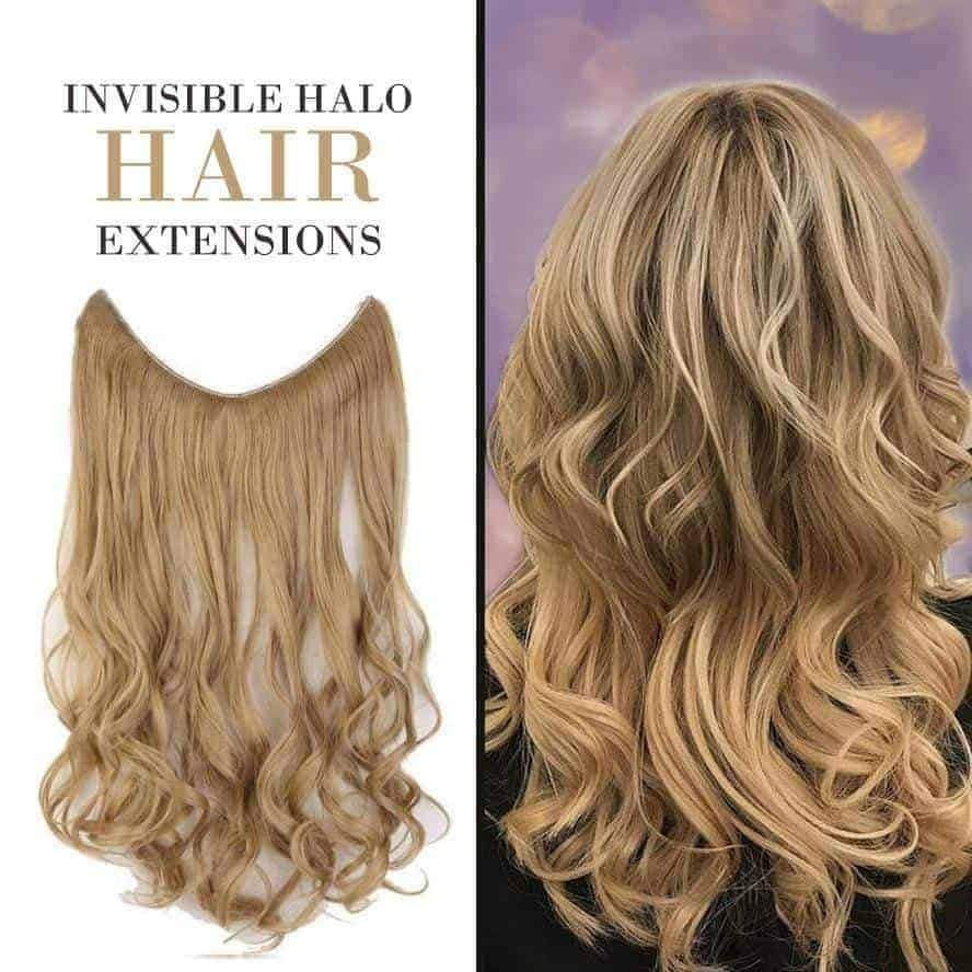 U Part Synthetic Hair Extension Clips Ins Straight Curly Wavy