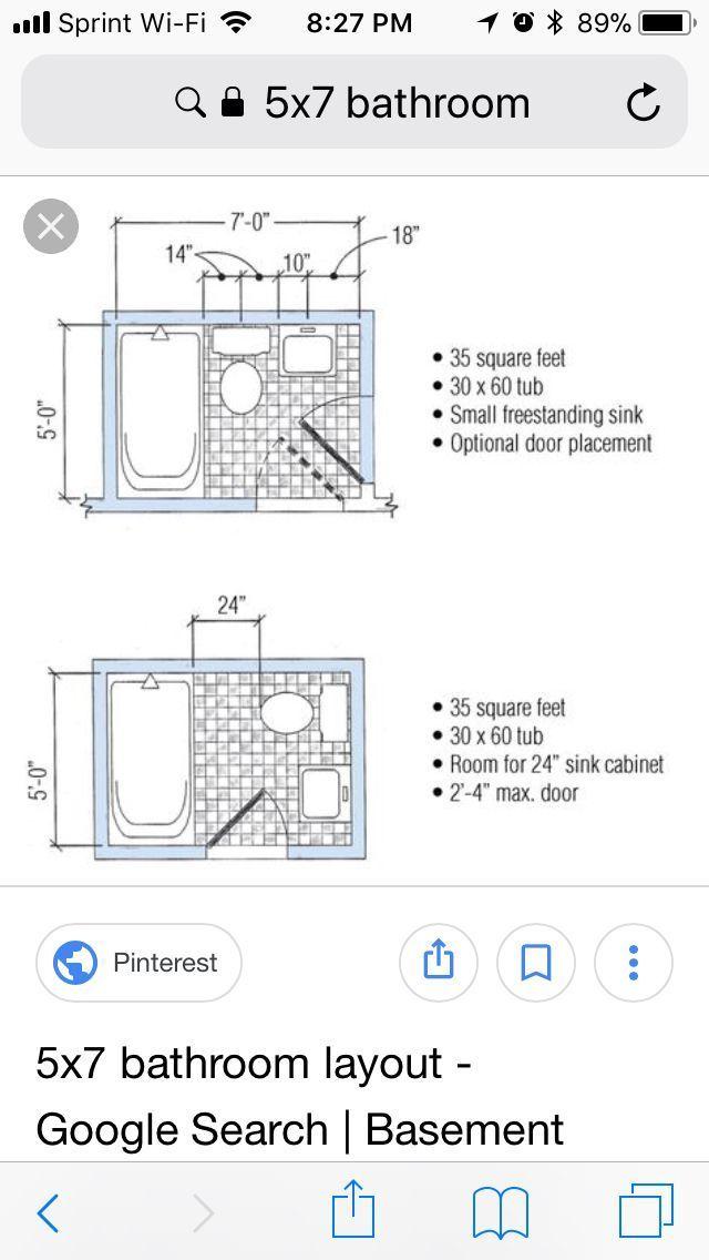 5x7 Bathroom Layouts Bathroomdesign4x5 Bathroomdesign7x4 With Images 5x7 Bathroom Layout Bathroom Layout Bathroom Design Small