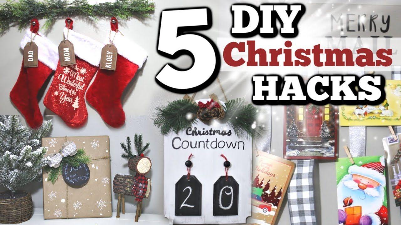 5 DIY Dollar Store Christmas Hacks YOU NEED! Dollar Tree