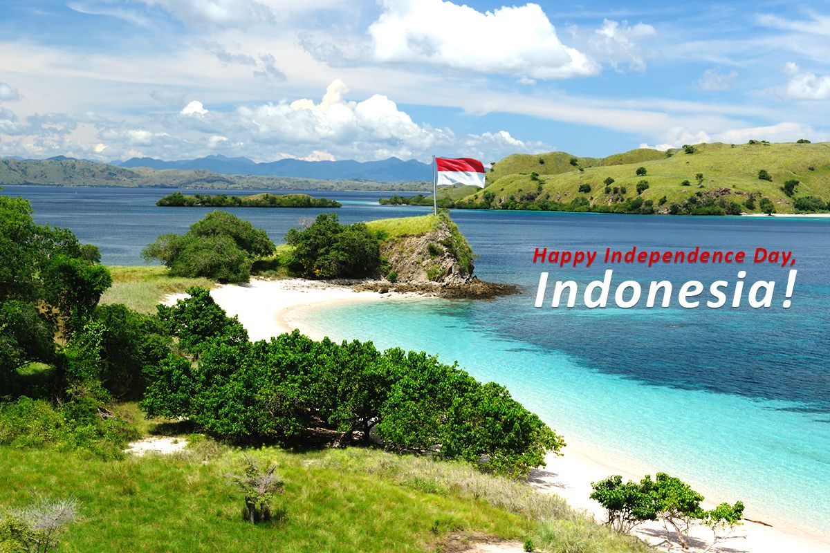 "Do you know the word ""Indonesia"" comes from the Greek word ""nesos"", which means island, and the Latin name ""Indus"" which means land beyond the Indus river? Happy Independence Day Indonesia!"