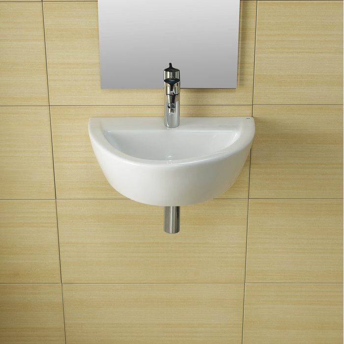 Bissonnet Universal Arq Porcelain Bathroom Sink Without Overflow Wall Mounted Bathroom Sinks Porcelain Bathroom Sink Bathroom Sink