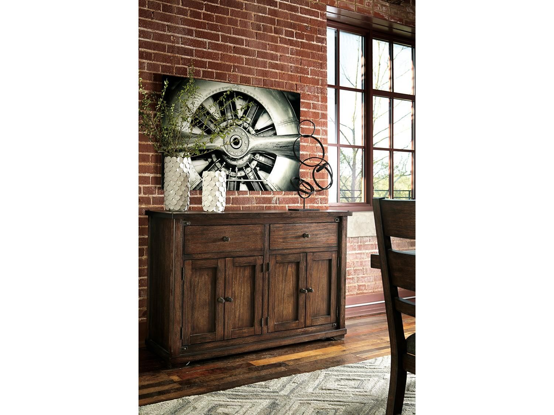 Ashley Furniture Zenfield Yemek Odasi Dolabi Pera Bulvari