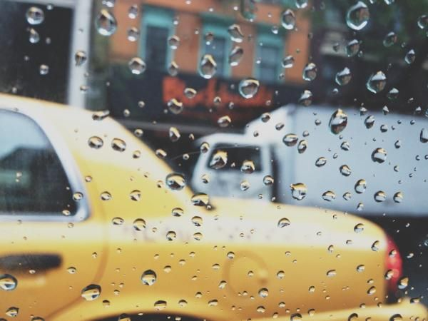 New York rain.