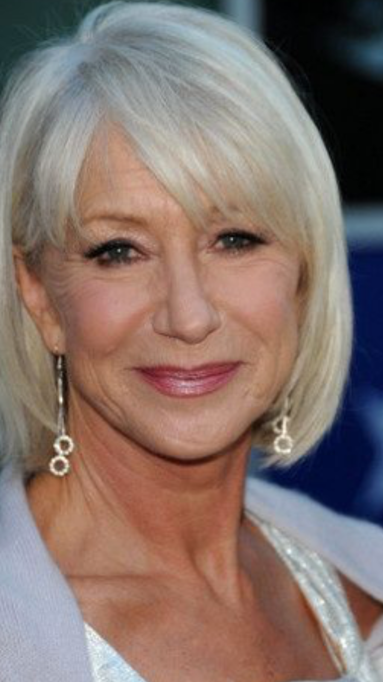 Helen Mirren Fashion For Me Pinterest Hair Style Haircuts And