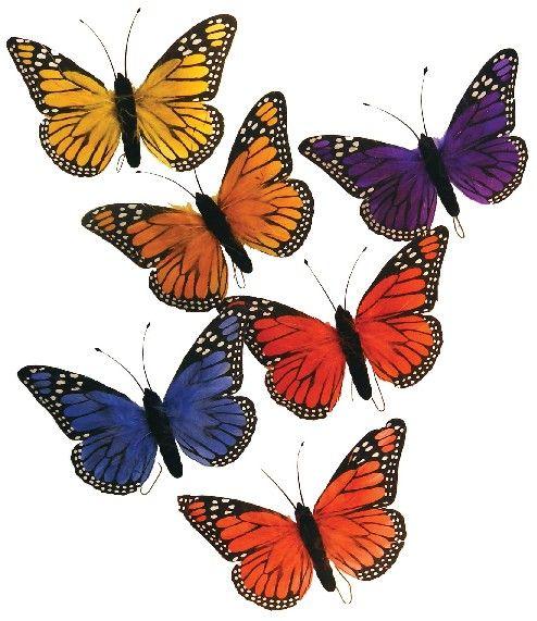 Assorted Artificial Butterflies