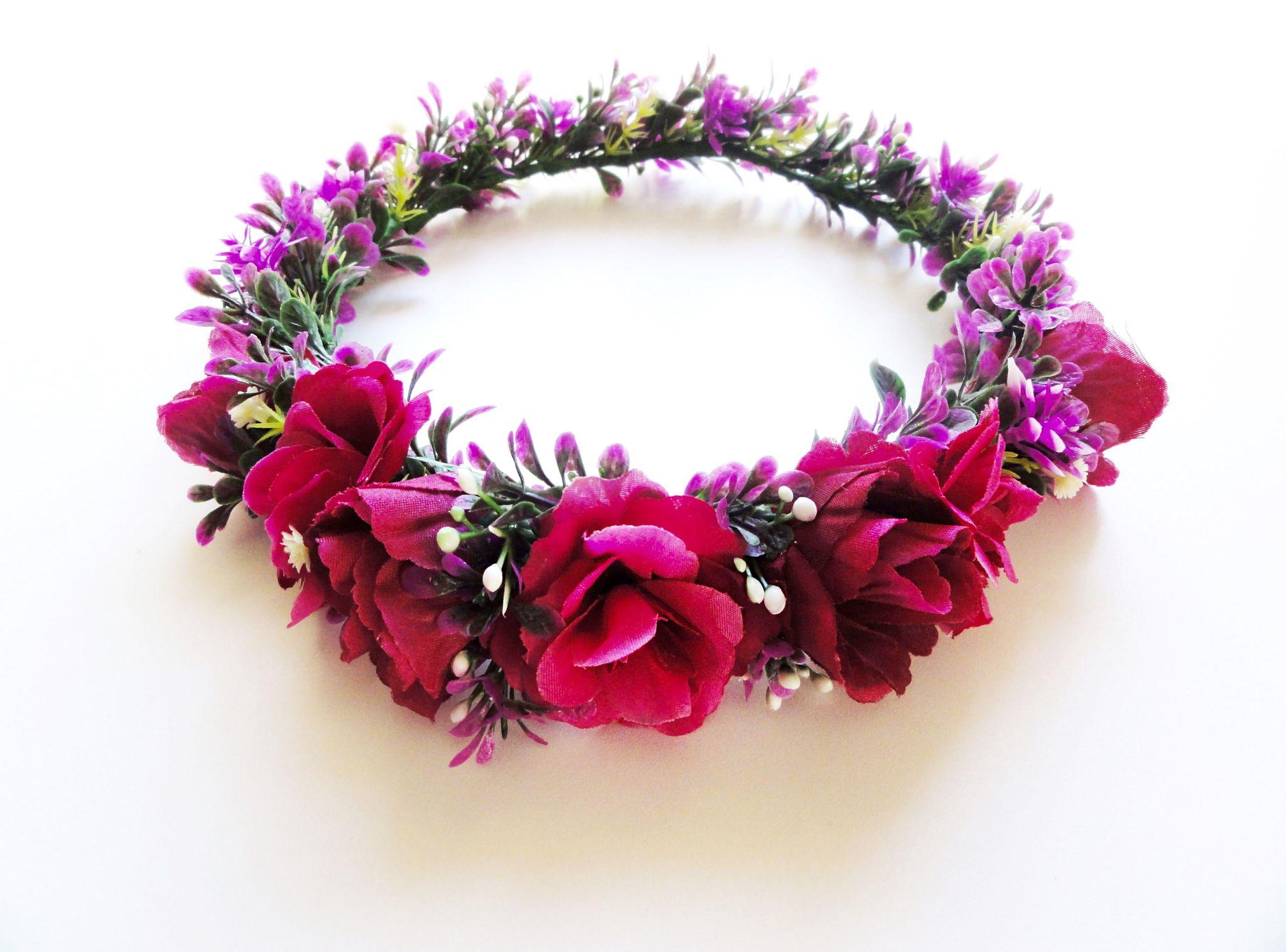 Kary M Designs MOH Flower Crown