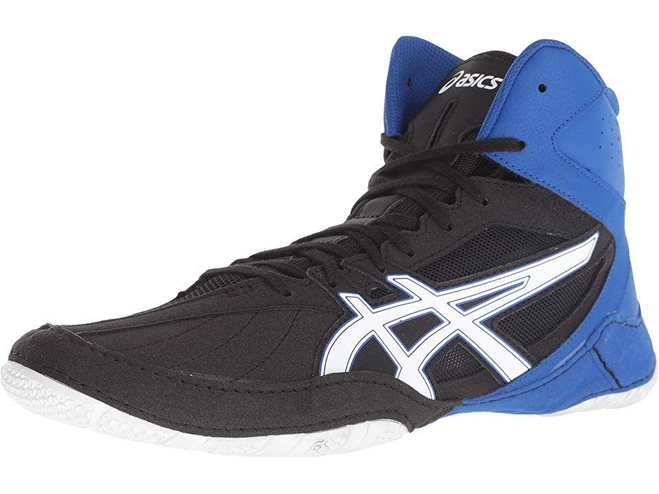 1cba557f7071 ASICS Matcontrol Men s Wrestling Shoes Black White
