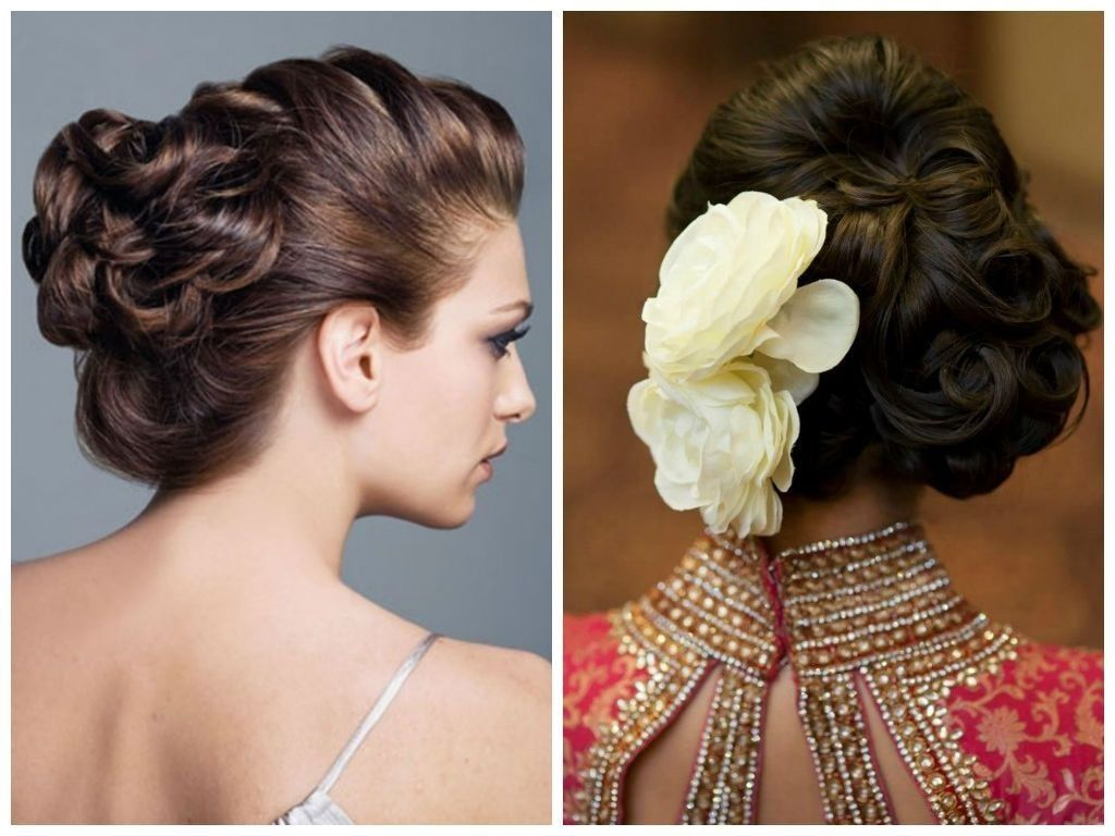 Fabulous Ideas For Indian Bridal Hairstyle Updo Ideas Wedding Hairstyles For Medium Hair Indian Wedding Hairstyles Indian Bridal Hairstyles